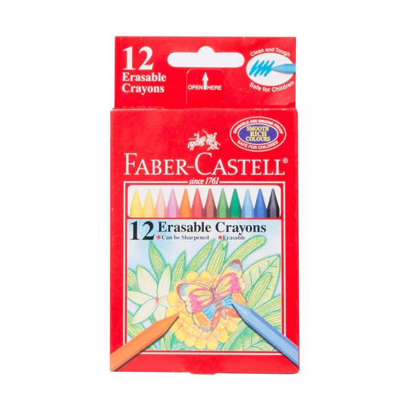 Faber C  Smart crayons 12pc 506802-V001 by Faber Castell