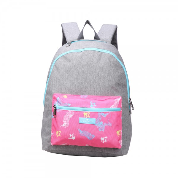 Faber C Energetic Bag Grey Pink Colors 506970-V001 by Faber Castell