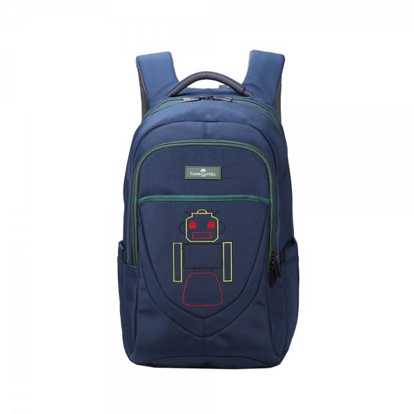 Faber C Weekend Bag Blue Robot 507025-V001 by Faber Castell