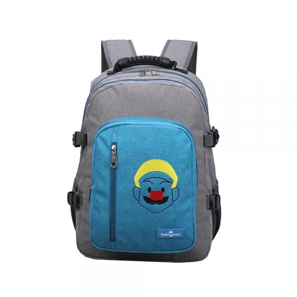 Faber C Wanderer Bag Grey Blue Mario 507101-V001 by Faber Castell