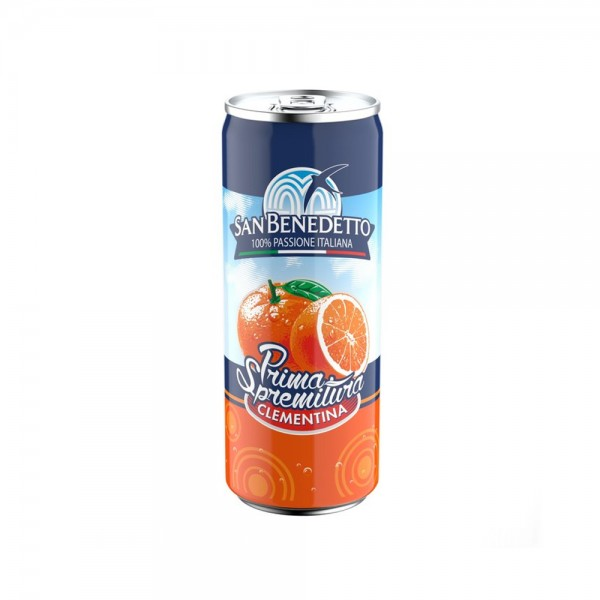 SPARKLING WATER CLEMENTINE CAN 507312-V001 by San Benedetto