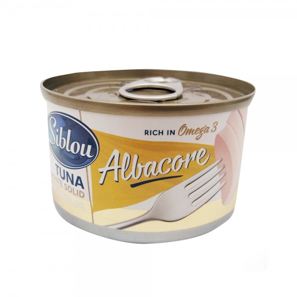 TUNA ALBACORE SUNFLOWER OIL 508526-V001 by Siblou
