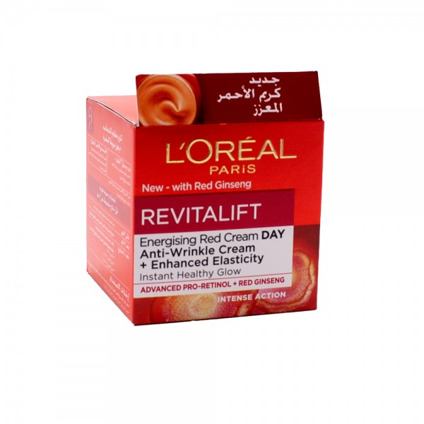L'Oreal Revitalift Ginseng Glow Day 50ml 509685-V001 by L'oreal