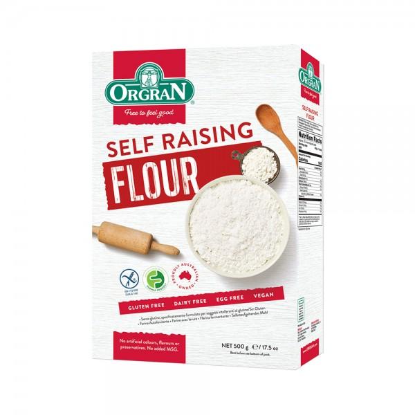 Orgran Self Raising Flour 500G 509738-V001 by Orgran