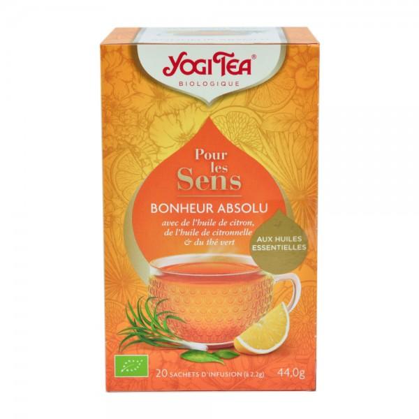 Yogi Tea Organic For The Senses Pure Happiness 17 Tea Bags 509974-V001 by Yogi Tea