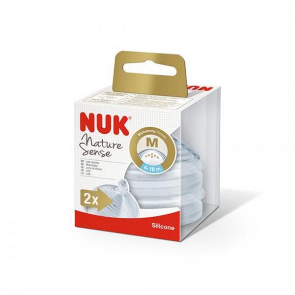 Nuk 2xNature Sense Siteat M 510075-V001 by NUK