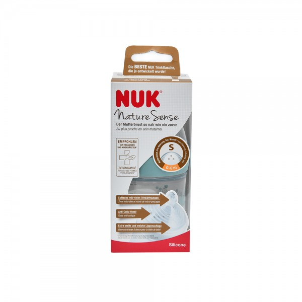 Nuk Nature Pp Botle Asrtd 0 To 6M 510077-V001 by NUK