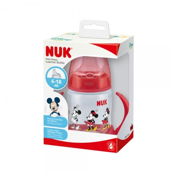 Nuk Mickey Pp Learnr Btl Rd 6To18M 510080-V001 by NUK