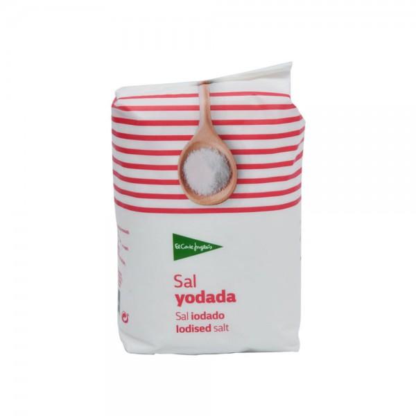 El Corte Iodised Salt Bag  - 1Kg 510351-V001 by El Corte
