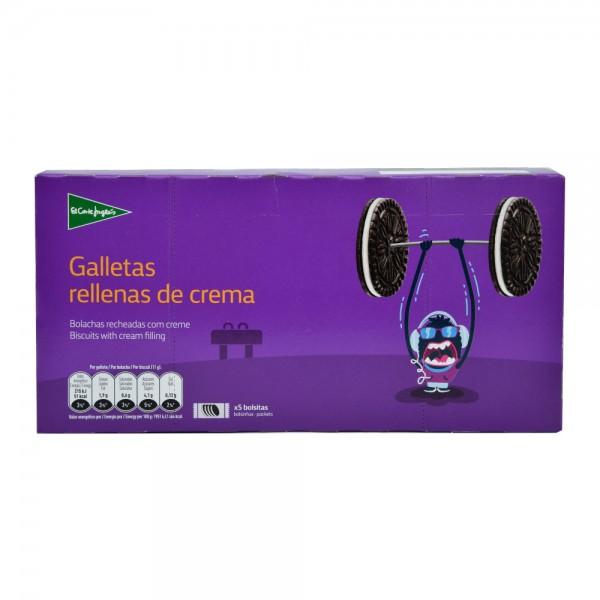 El Corte Cream Filled Biscuits 5 Bags - 220G 510417-V001 by El Corte