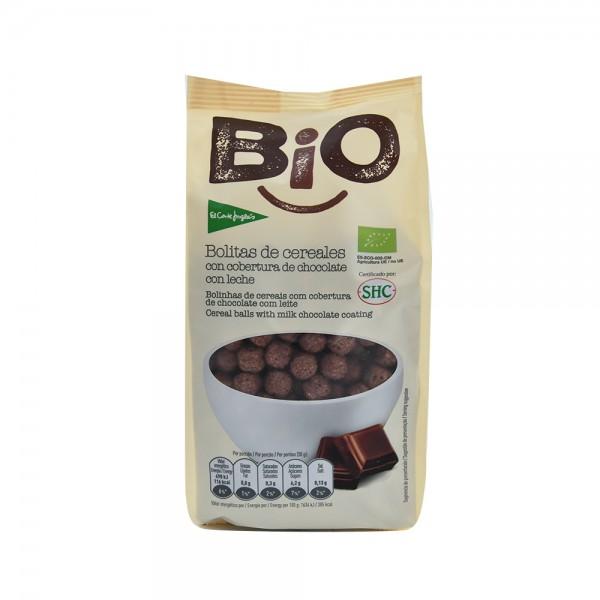El Corte Inglés Organic Cereal Balls With ChocolateBag 200G 510506-V001 by El Corte