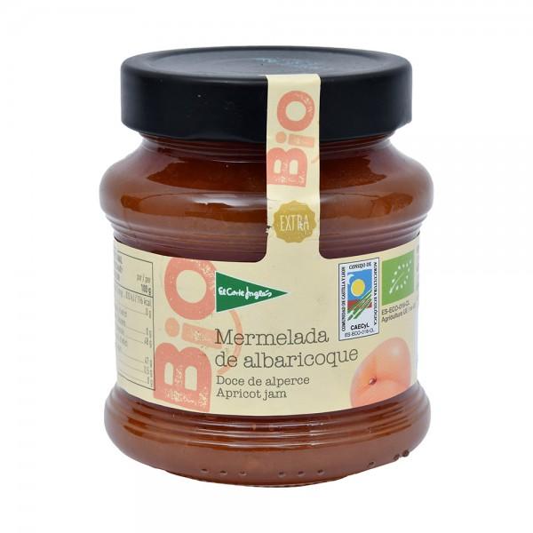 El Corte Inglés Bio Organic Apricot Jam Flask 350G 510524-V001 by El Corte