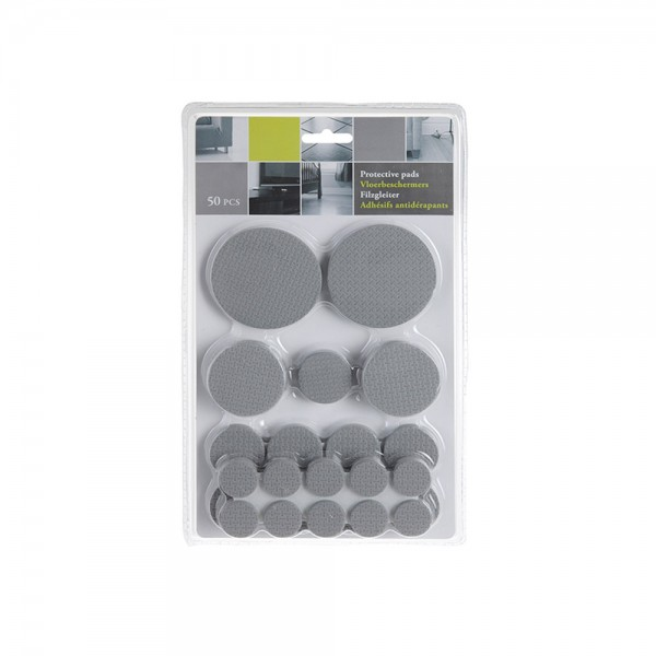 Eh Anti Skid Pads - 50Pc 510631-V001 by EH Excellent Houseware
