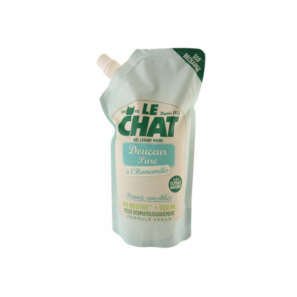 Le Chat Refill Liquid Soap Doucur Pure - 500Ml 510925-V001 by Le Chat