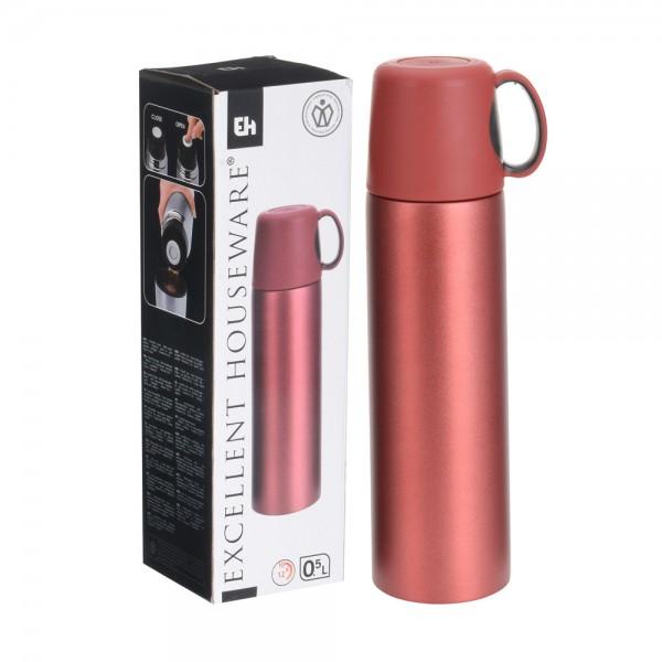 Vaccm Flsk Vaccum Flask Bullet Assrt3 - 500Ml 511000-V001 by EH Excellent Houseware