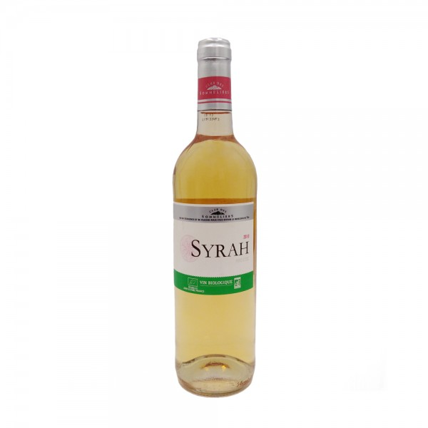 IGP PAYS D'OC SYRAH ROSE BIO 511716-V001 by Club des Sommeliers