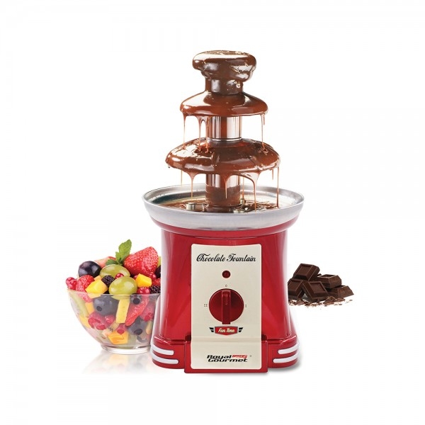 R.Gourmet Chocolate Fountain Maker - 90W 511821-V001 by Royal Gourmet Corporation