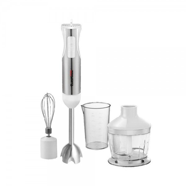 R.Gourmet Hand Blender Full Acc 4 Blades - 800W 511826-V001 by Royal Gourmet Corporation