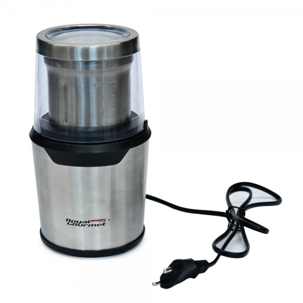 R.Gourmet Coffee Grinder Stainless 200W - 200W 511827-V001 by Royal Gourmet Corporation