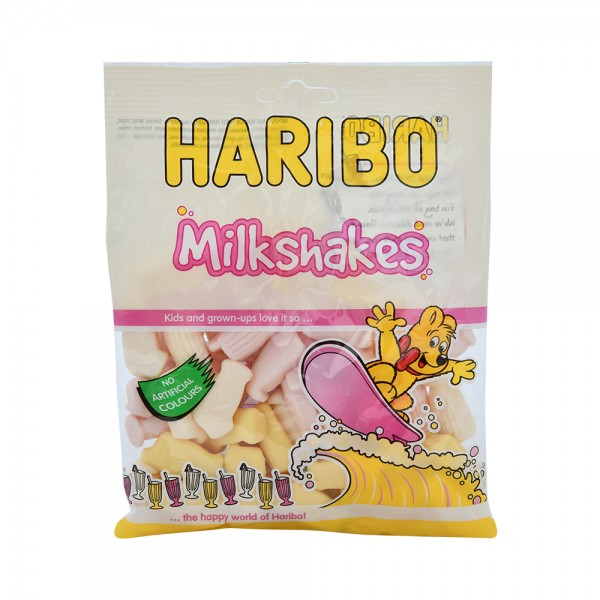 Haribo Milkshakes Clipstrip - 150G 512406-V001 by Haribo