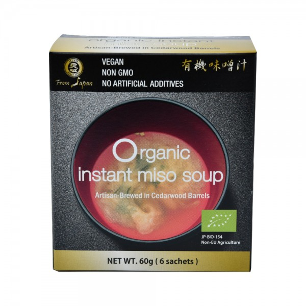 MUSO Organic Instant Miso Soup 60G 513026-V001 by Muso from Japan