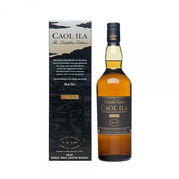 Single Malt Stotch Whisky Caol Ila Distiller's Edition Aged 12 years 70cl 514278-V001 by Caol Ila