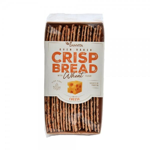 Danvita Cheese & Pumpkin Wheat Crisp Bread 130G 514937-V001 by Danvita