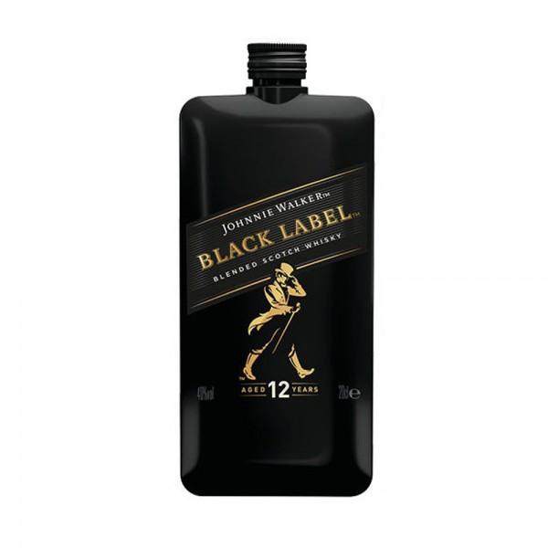 Blended Scotch Whisky Johnnie Walker Black Label Pocket Scotch 514980-V001 by Johnnie Walker