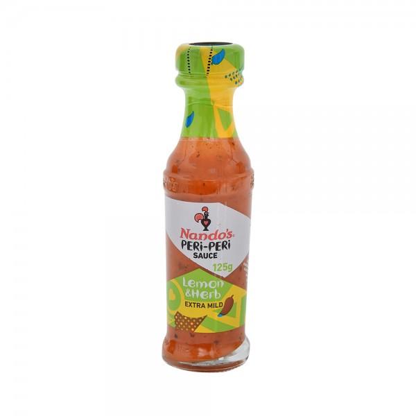 Nandos Lemon+Herb Peri Peri Sauce - 125G 515037-V001 by Nando's