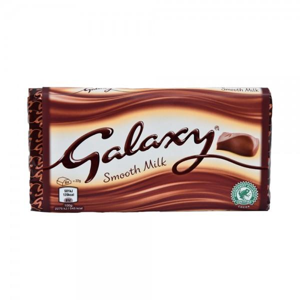 Galaxy Milk Block - 110G 515079-V001 by Mars