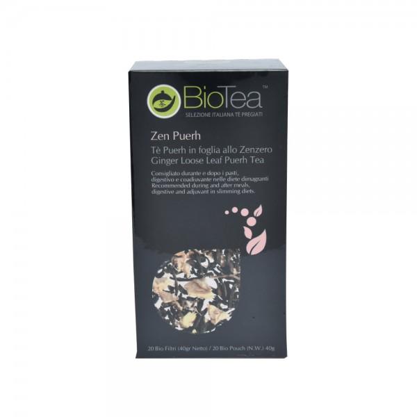"""BioTea """"Zen Puerh"""" - Ginger Puerh Tea 40G 515270-V001 by Biotea Tè Pregiati"""