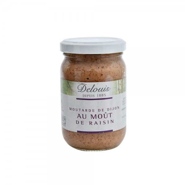 Delouis Mustard With Grape Must 200G 515711-V001 by Delouis Fils