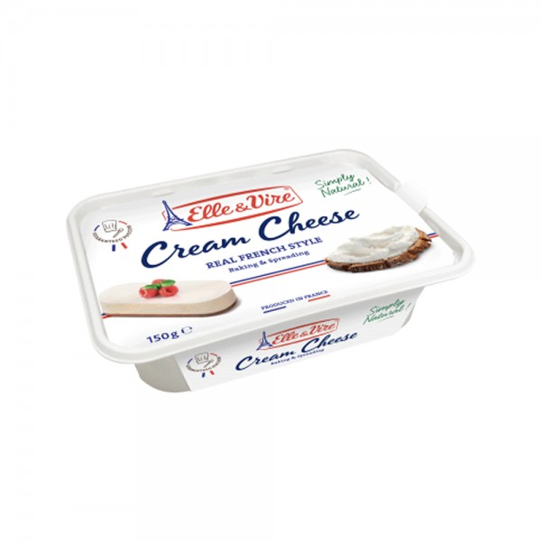 Elle & Vire Professionnel French Cream Cheese 150G 516250-V001 by Elle & Vire