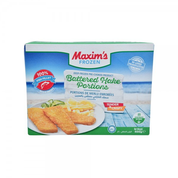 Maxim'S Battered Hake Portions 516331-V001 by Maxim's