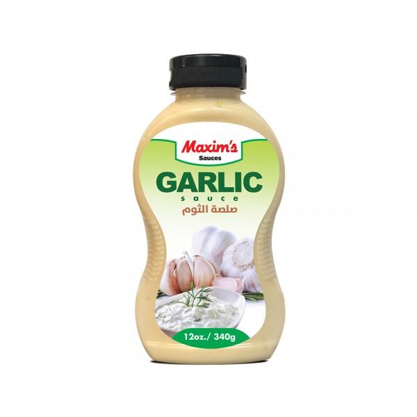 Maxims Garlic Sauce - 340G 516416-V001 by Maxim's