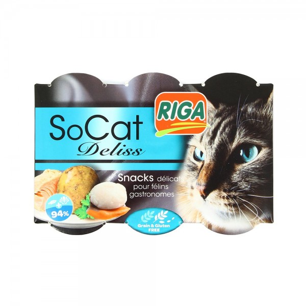 Riga Socat Deliss Thon Coq St Jacq - 6X22G 516653-V001 by Riga