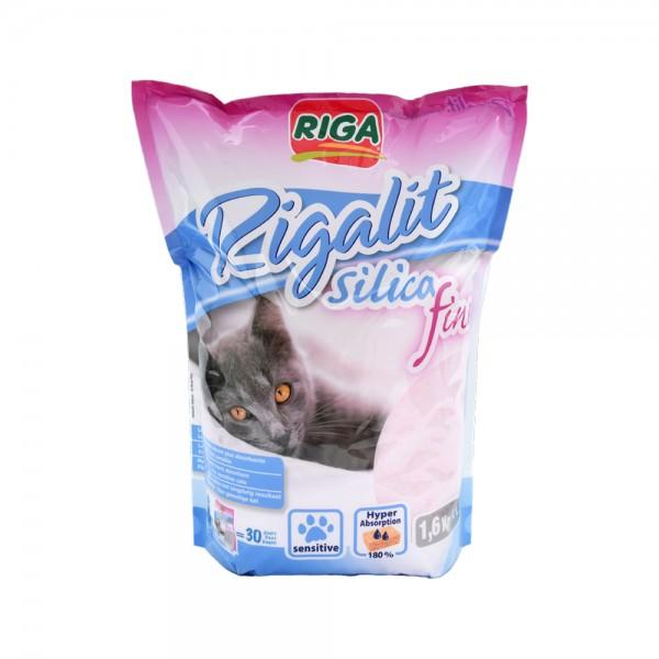 Riga Litiere Rigalit Silica Fine - 1.6Kg 516691-V001 by Riga