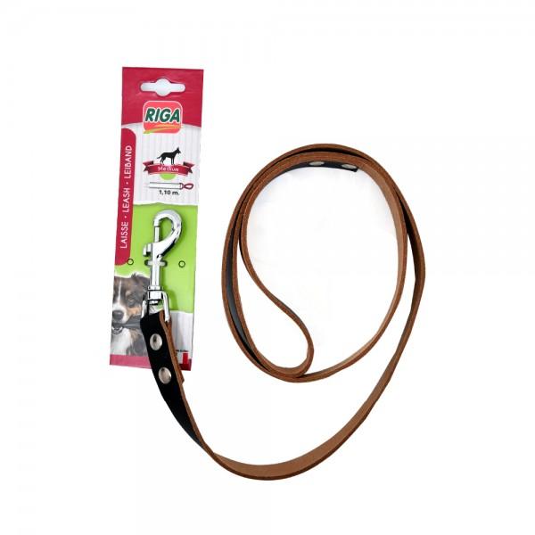 RIGA Leather Leash 18 mm x 1.1 m 1 Piece 516770-V001 by Riga