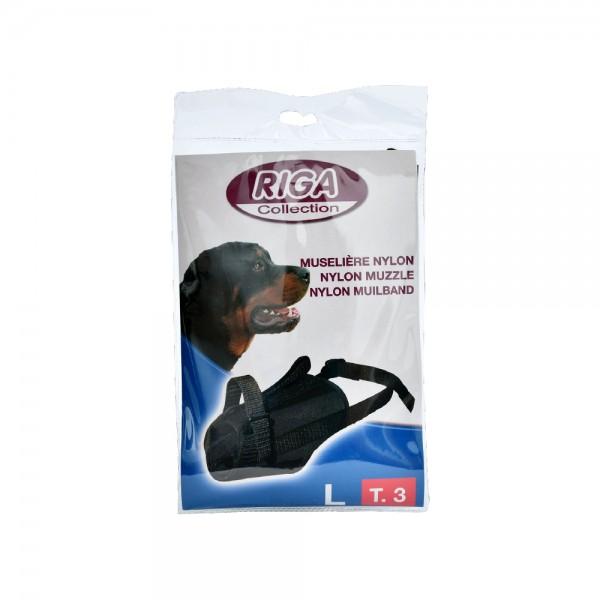 RIGA Nylon Muzzle N°3 1 Piece 516781-V001 by Riga
