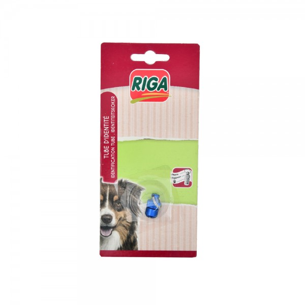 Riga Tube Identite Chien - 1Pc 516857-V001 by Riga