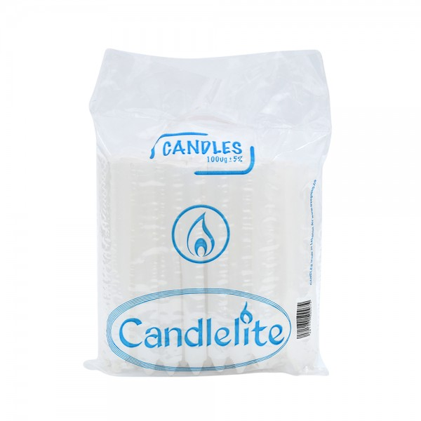 Candelite Candle White 516897-V001 by Candlelite