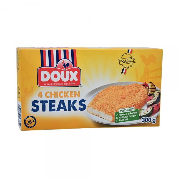 Doux Frozen Steack Chicken - 300G 517423-V001 by Doux