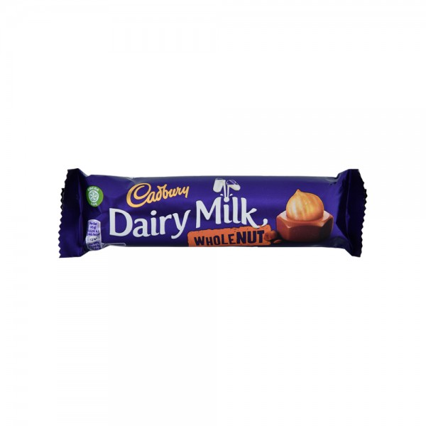 Cadburys Whole Nut - 45G 517618-V001 by Cadbury