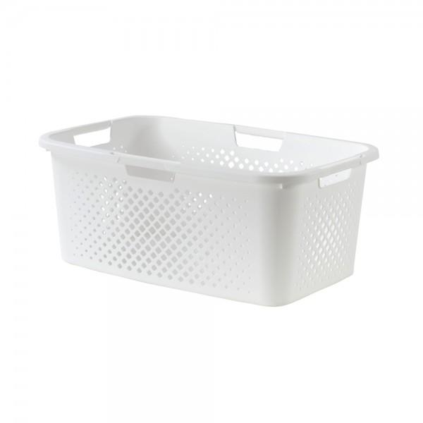 sundis Pixel Laundry Basket White Color 40L 518278-V001 by Sundis