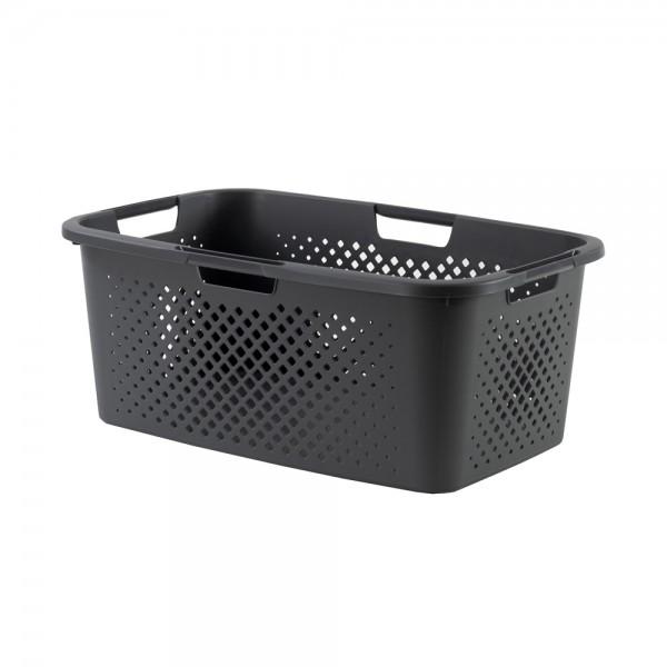 sundis Pixel Laundry Basket Grey Color 40L 518279-V001 by Sundis