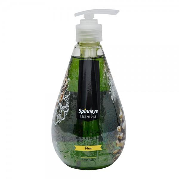 Spinneys Liquid Soap Pine 550ml 518352-V001 by Spinneys Supreme