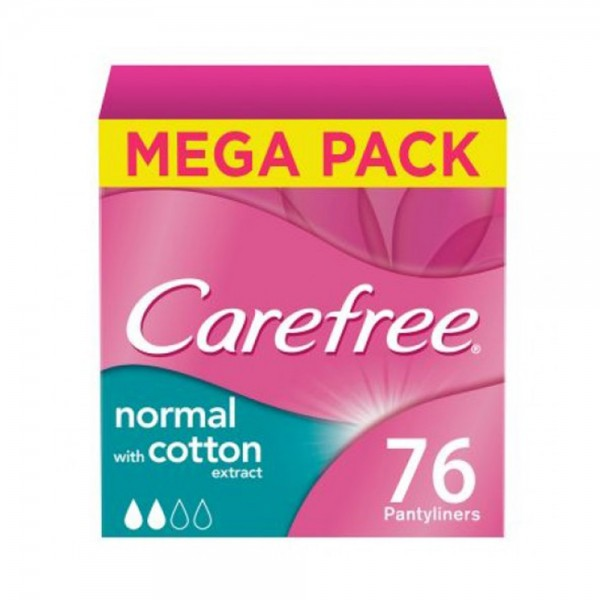 CAREFREE NORMAL COTTON MEGAPACK 518381-V001