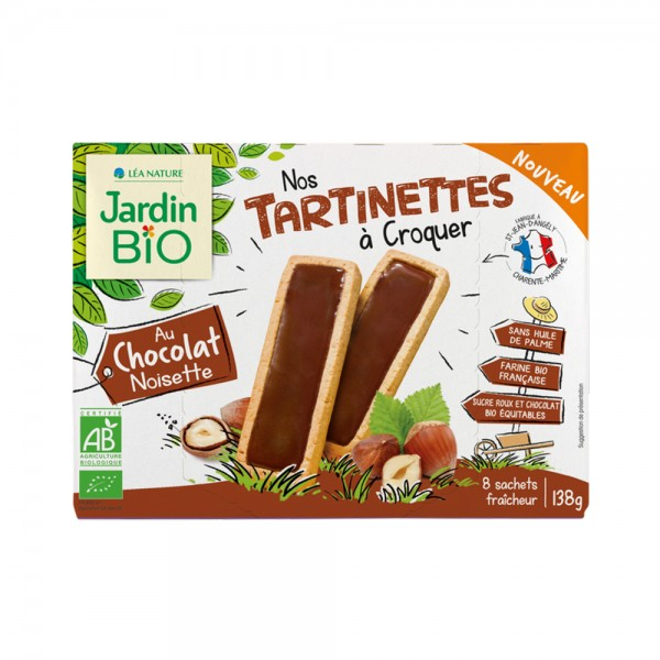 Jardin Bio Tartinettes Choco Noir - 138G 518644-V001 by Jardin Bio