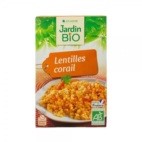 Jardin Bio Lentilles Corail Bio  - 500G 518659-V001 by Jardin Bio