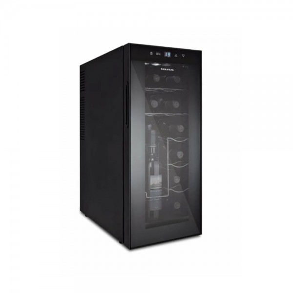 Taurus Wine Cooler with LED Lights-12 bottles 518873-V001 by Taurus